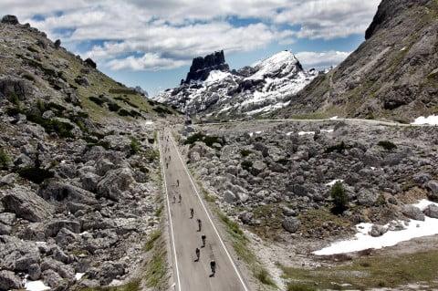 Maratona Dolomitas 2013. Subir como Pantani, bajar como Nibali