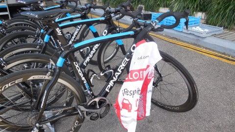 Los secretos del Team Sky. Abren a Ciclored.com las puertas de su Stage en Alcudia
