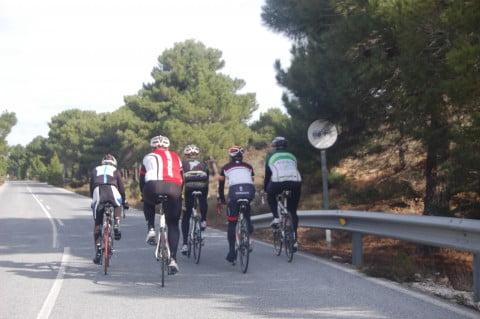 Ciclistas pirados 2012 en Sierra Nevada