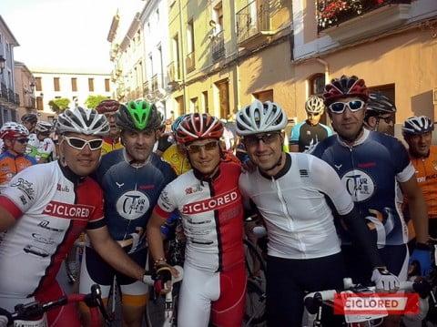 Una auténtica clásica ciclista (Ruta Castillos Ayora 2014)