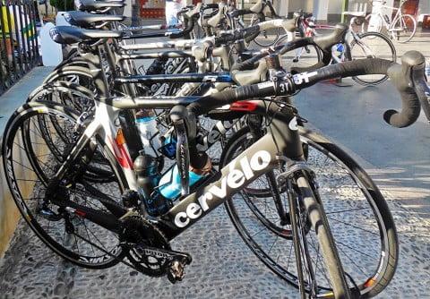 El supermercado ciclista de La Vuelta 2014