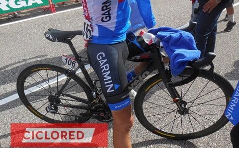 Las bicicletas ultraligeras de La Vuelta 2014