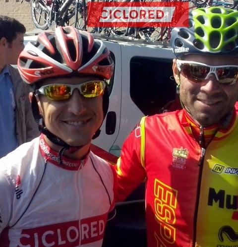 A rueda de Valverde y Nibali… así reconoce Ciclored el circuito del Mundial 2014