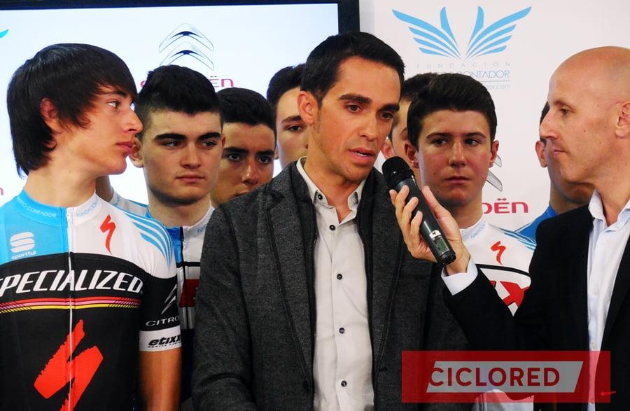 Contador se retira en 2016...