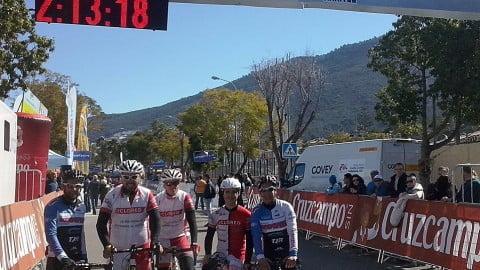 El Team Ciclored en la Vuelta Andalucia