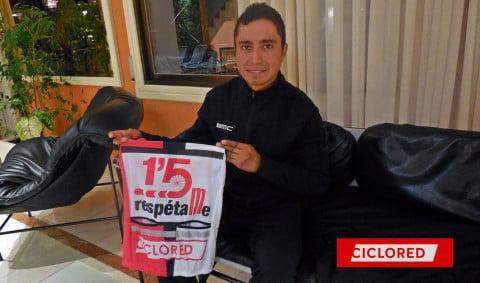 Atapuma: «En un pelotón del Tour llegas a pasar miedo»