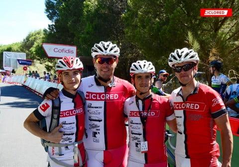 Un Globero en La Vuelta 2015