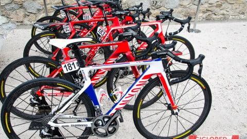 Las bicicletas de La Vuelta 2015… envidia ¿sana?