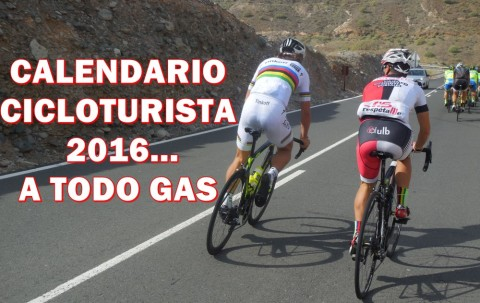 Calendario cicloturista 2016