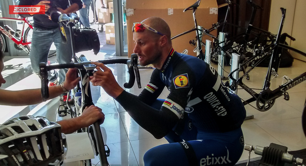 Campus Etixx Ciclored Tom Boonen
