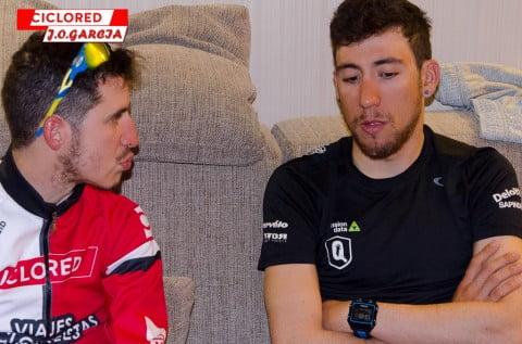 Omar Fraile: «En la Vuelta dormía hasta 13 horas diarias»
