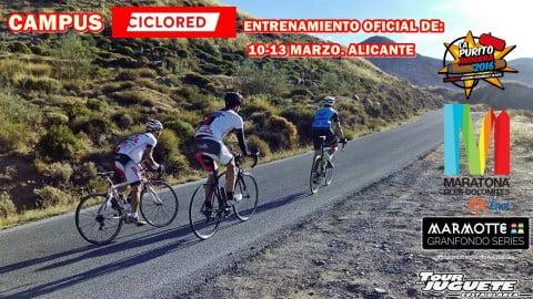 El Campus Ciclored, entrenamiento oficial de Marmotte, Maratona, La Purito y Tour Juguete