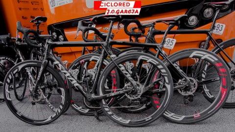 Las bicicletas profesionales de la Vuelta a la Comunidad Valenciana