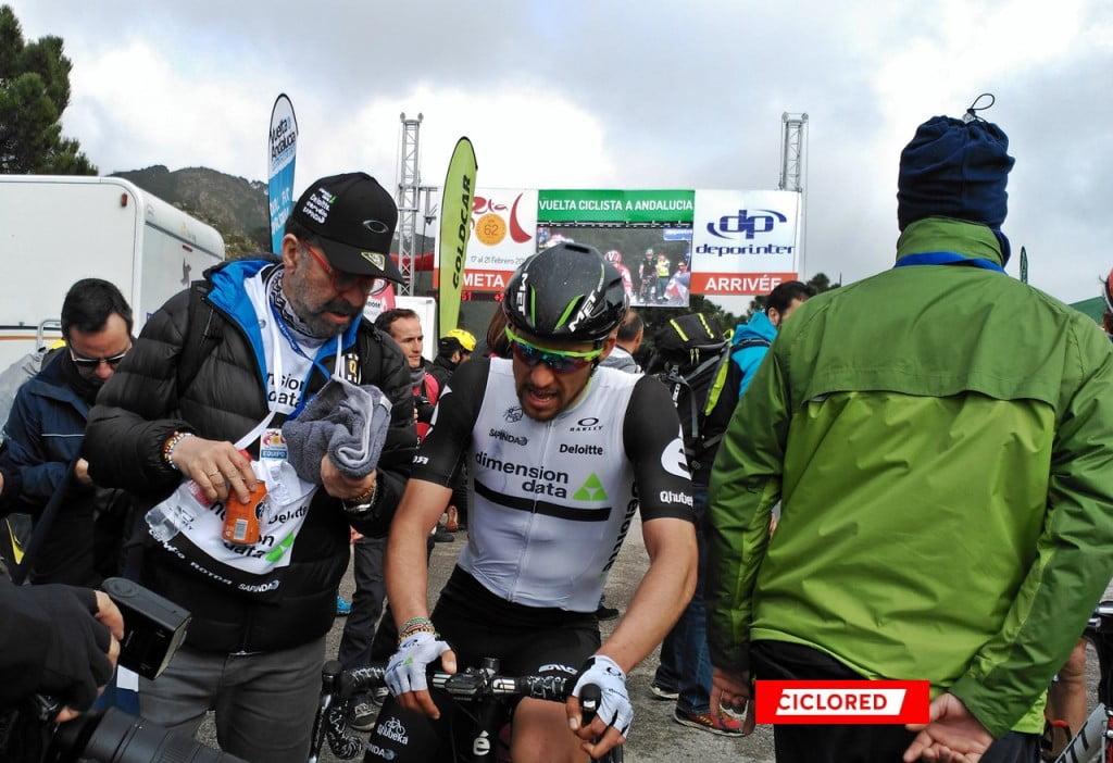 Vuelta Andalucia Peñas Blancas omar fraile