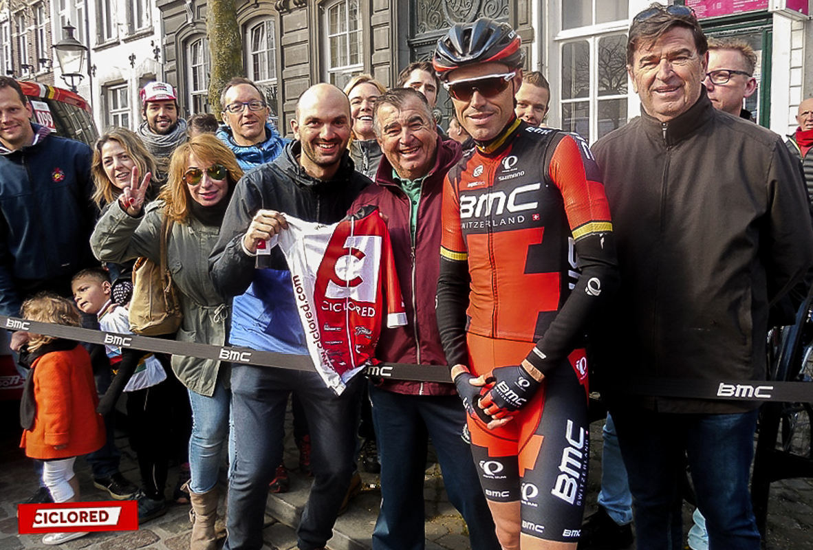 Amstel Gold Race viaje ciclored Samuel Sanchez