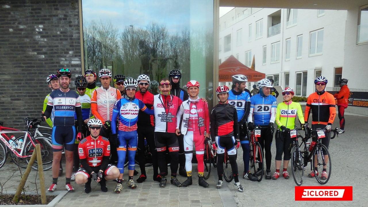 tour flandes viaje cicloturista ciclored oudenaarde hotel leopold