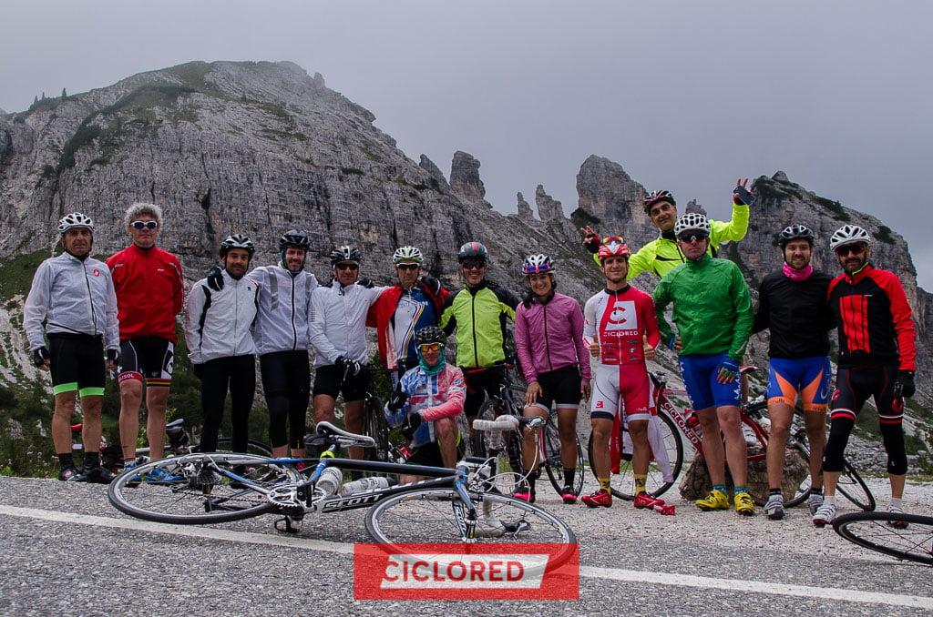 maratona de los dolomitas viaje ciclista lavaredo