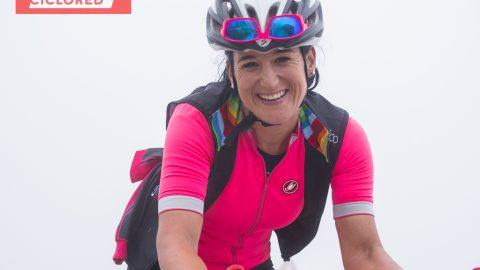 """Ziortza Villa: """"El cicloturismo femenino necesita visibilidad"""""""