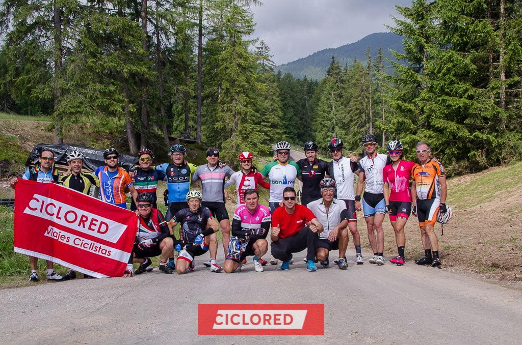 maratona de los dolomitas viaje ciclista passo delle erbe