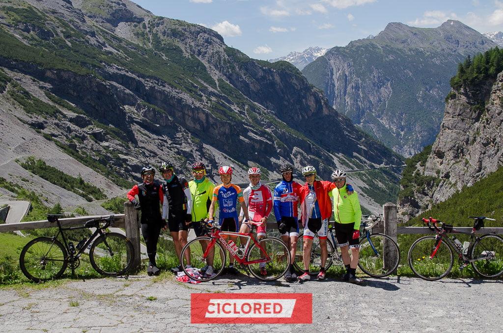 maratona de los dolomitas viaje ciclista stelvio bormio