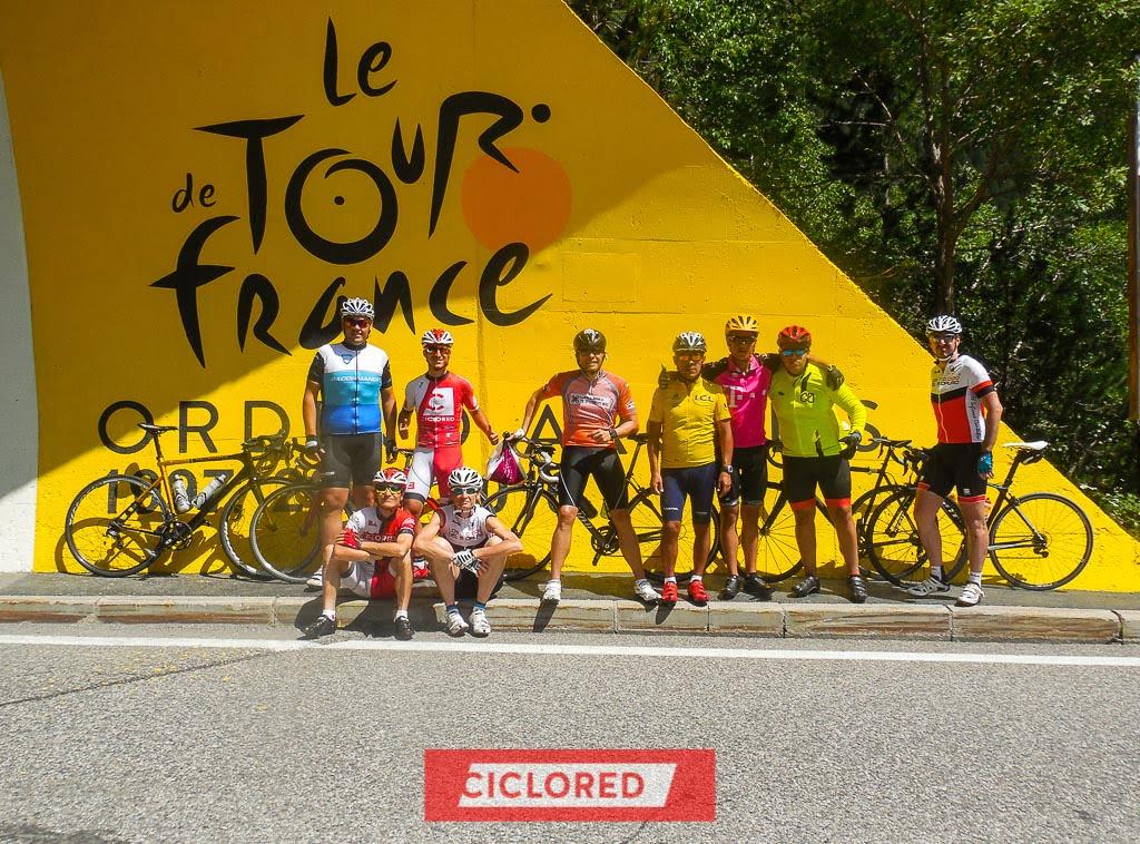 tour francia viaje ciclored etapa cartel