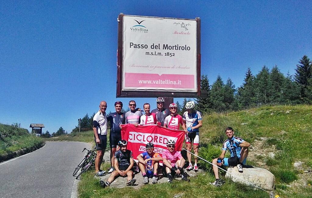 maratona de los dolomitas viaje ciclista mortirolo