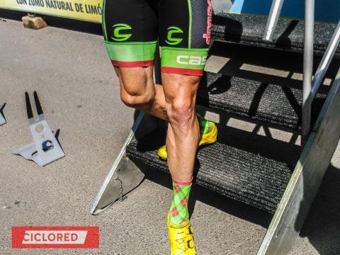 Músculos de acero. Las piernas ciclistas de La Vuelta 2016