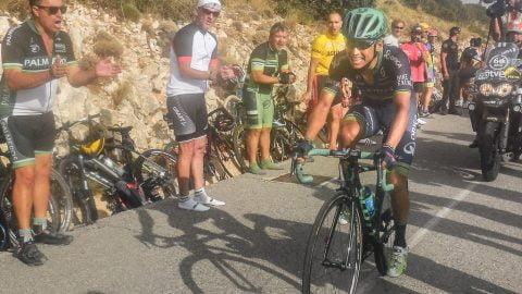 Cansancio, dolor extremo. La Vuelta 2016 en Aitana