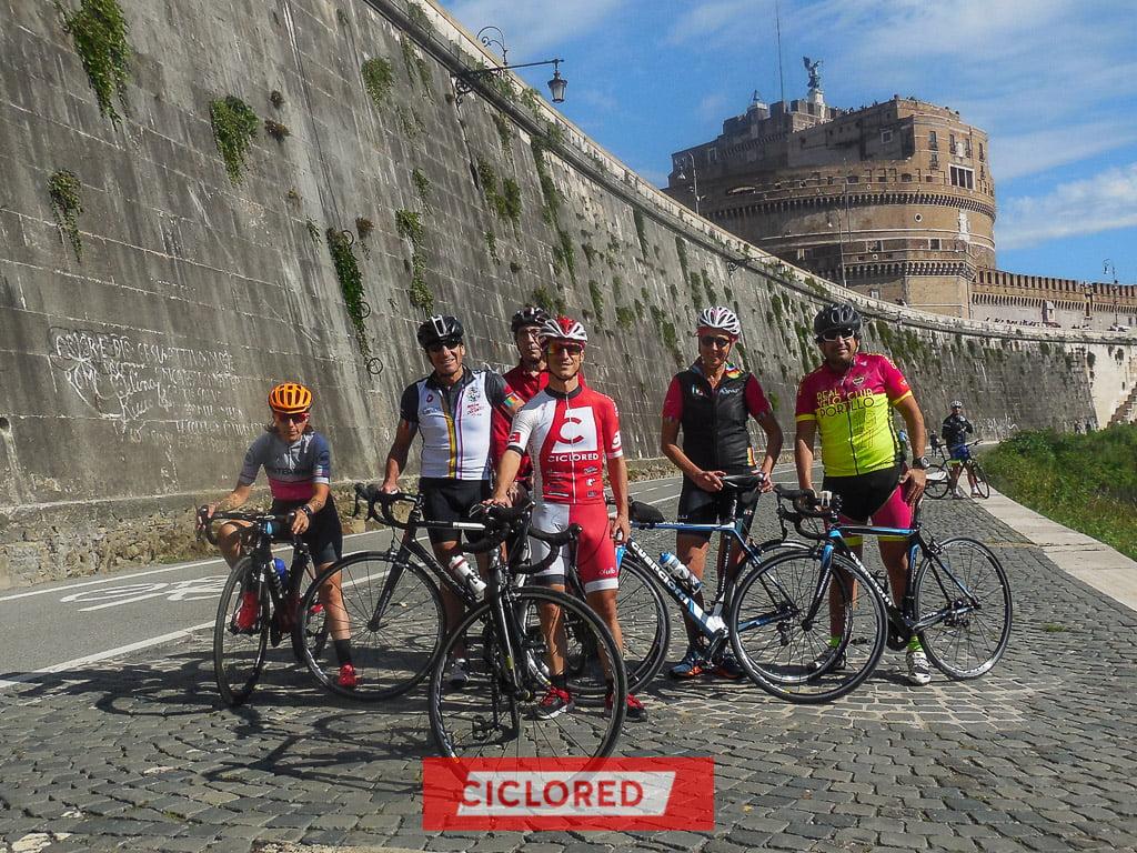 gran fondo roma campagnolo viaje ciclored castello