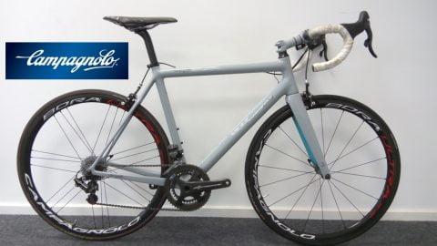 Las bicicletas de test de Campagnolo al servicio del II Campus Ciclored Joseba Beloki