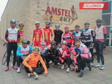 Fotos Amstel Gold Race 2017. Cicloturista y carrera profesional