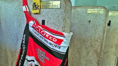 Fotos Paris Roubaix 2017. Cicloturista y carrera profesional