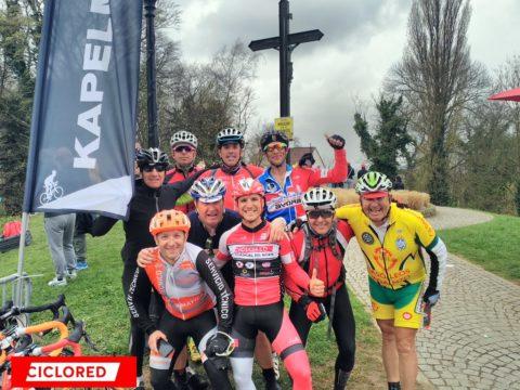 Fotos Tour de Flandes 2017. Cicloturista y carrera profesional
