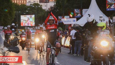 Las últimas pedaladas de Alberto Contador
