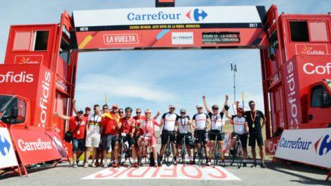 La Vuelta 2017 desde dentro. Cada uno la vive a su aire