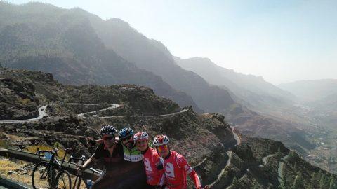 Los privilegiados de Gran Canaria. La Cicloturista 2017