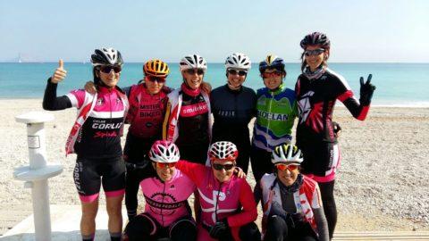 Ziortza Villa: «El cicloturismo femenino ya es imparable»