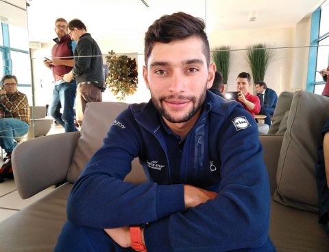 Fernando Gaviria: «El sprint es un ring y sabes que puedes salir lastimado»