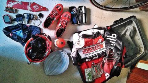 Cómo organizar tu maleta ciclista