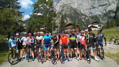 En la Maratona de los Dolomitas solo se puede sonreir