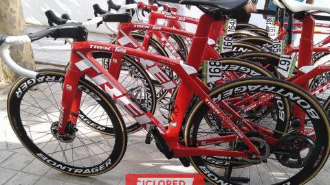 Las bellezas de La Vuelta 2018. Todas las bicicletas de los equipos profesionales