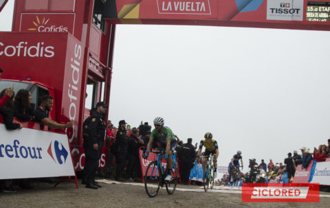 Las fotos y vídeos de La Vuelta 2018