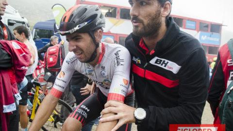 ¿Cuanto se cansa un ciclista de la Vuelta?