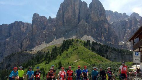 Enamorados de la Maratona de los Dolomitas