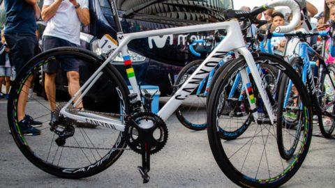 Las bicicletas escaladoras de los equipos profesionales de La Vuelta 2019