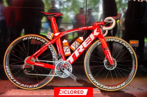 Las bicicletas aerodinámicas de los equipos profesionales