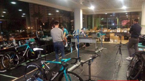 El Team Astana, desde dentro