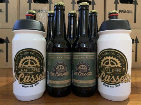 La Cassette, cerveza ciclista artesana para el Campus Ciclored Joseba Beloki 2020