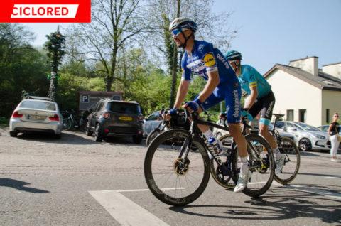 Julien Alaphilippe: «En el Tour acabó cansada hasta la bici»