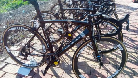 Las bicicletas de los equipos profesionales 2020. Vuelta Andalucia